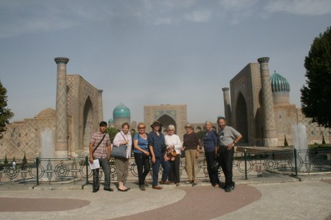 Recent group at the Registan