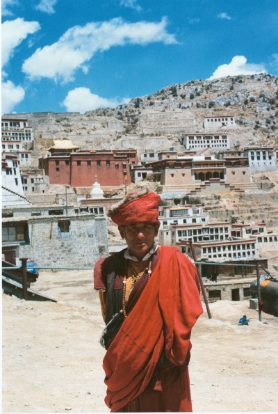 Local Pilgrim - Ganden Monastery