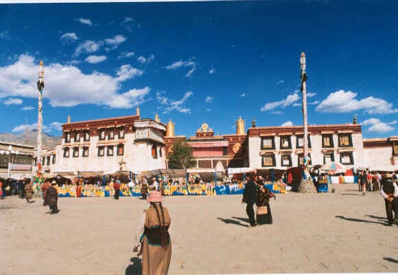 Closeup Of Jokhang Temple - Lhasa