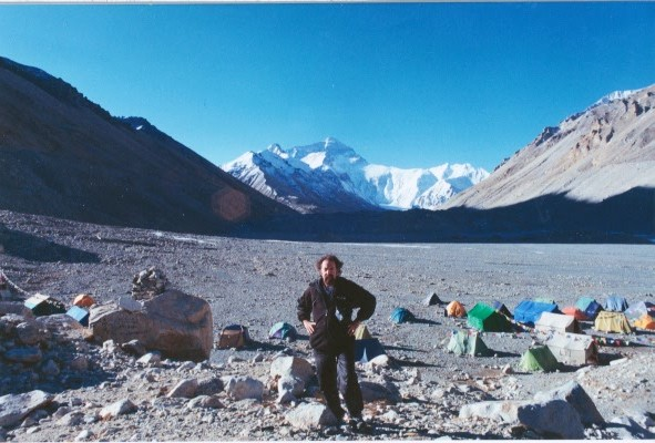 Jeff Garrett at Mount Everest Base Camp